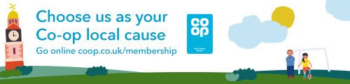 Support us via the co-op local causes scheme